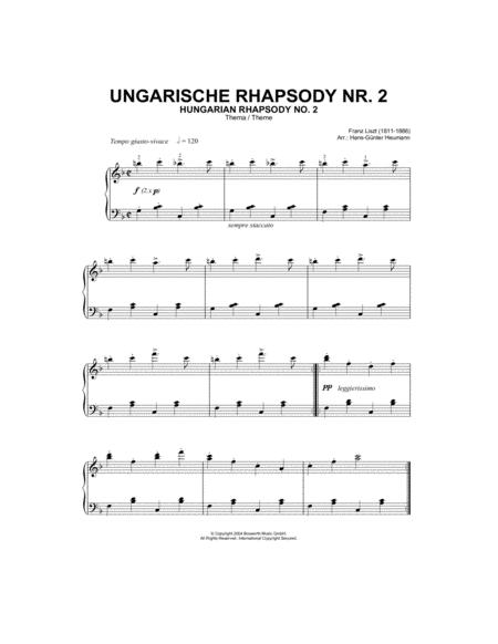 Hungarian Rhapsody (Ungarische Rhapsody) No.2