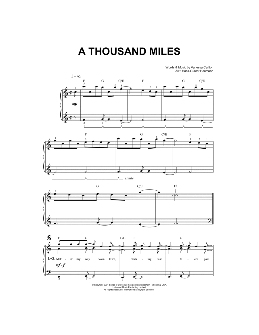 A Thousand Miles