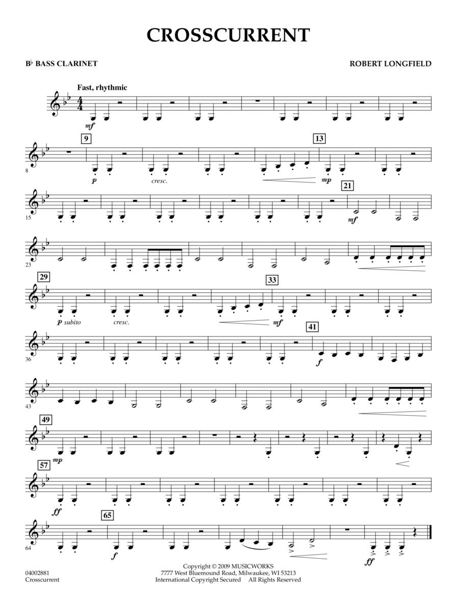 Crosscurrent - Bb Bass Clarinet