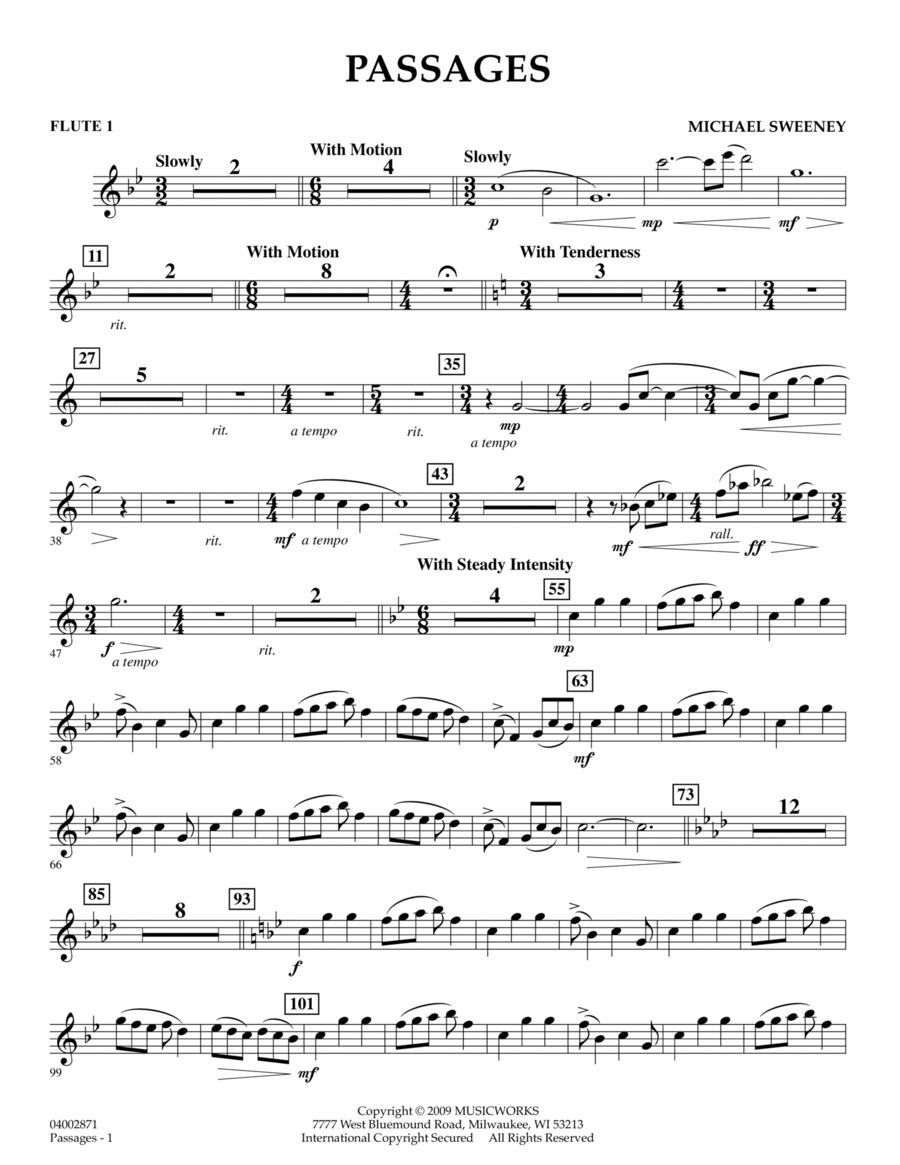 Passages - Flute 1