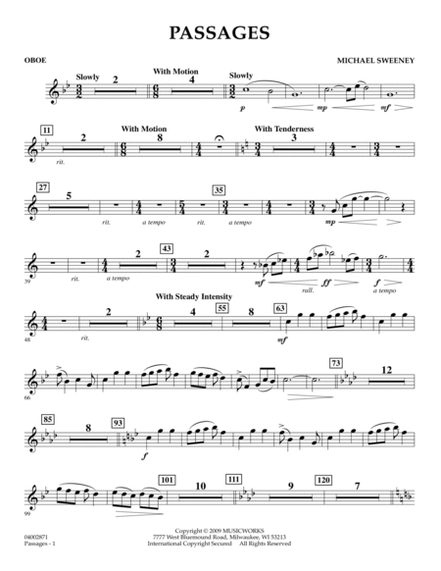 Passages - Oboe