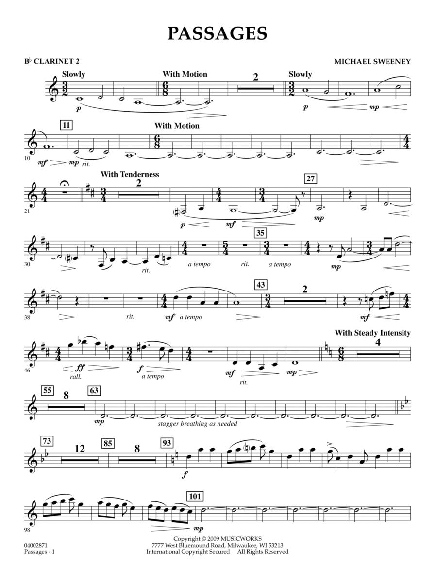 Passages - Bb Clarinet 2