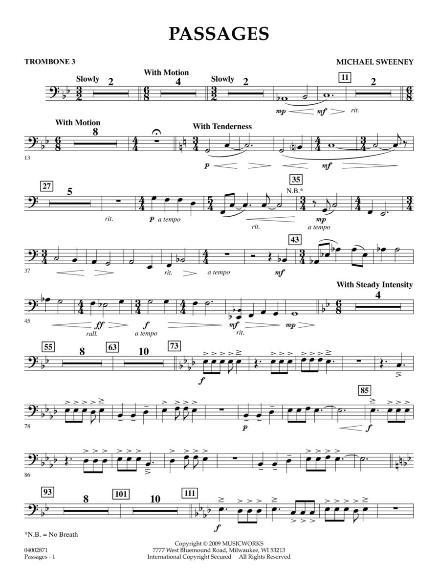 Passages - Trombone 3