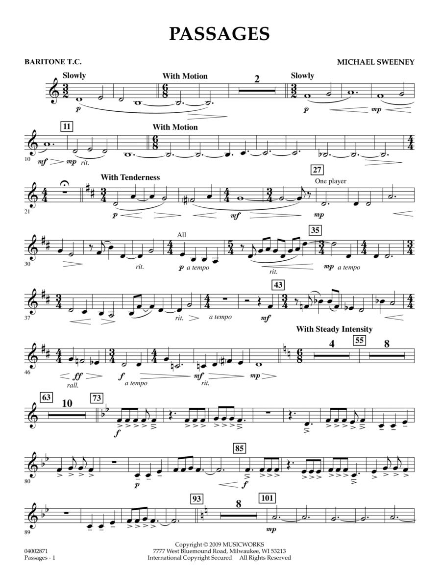 Passages - Baritone T.C.
