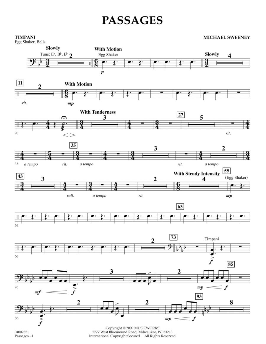 Passages - Timpani