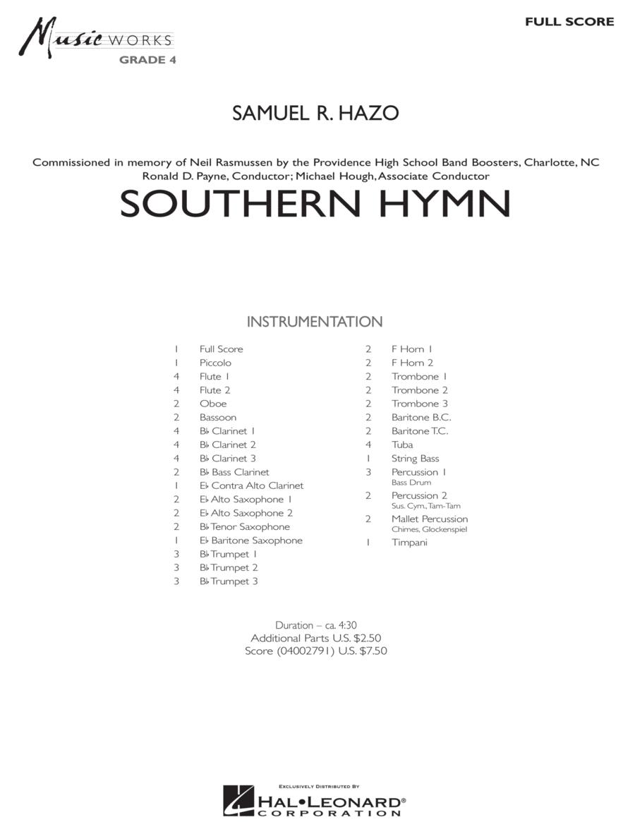 Southern Hymn - Full Score