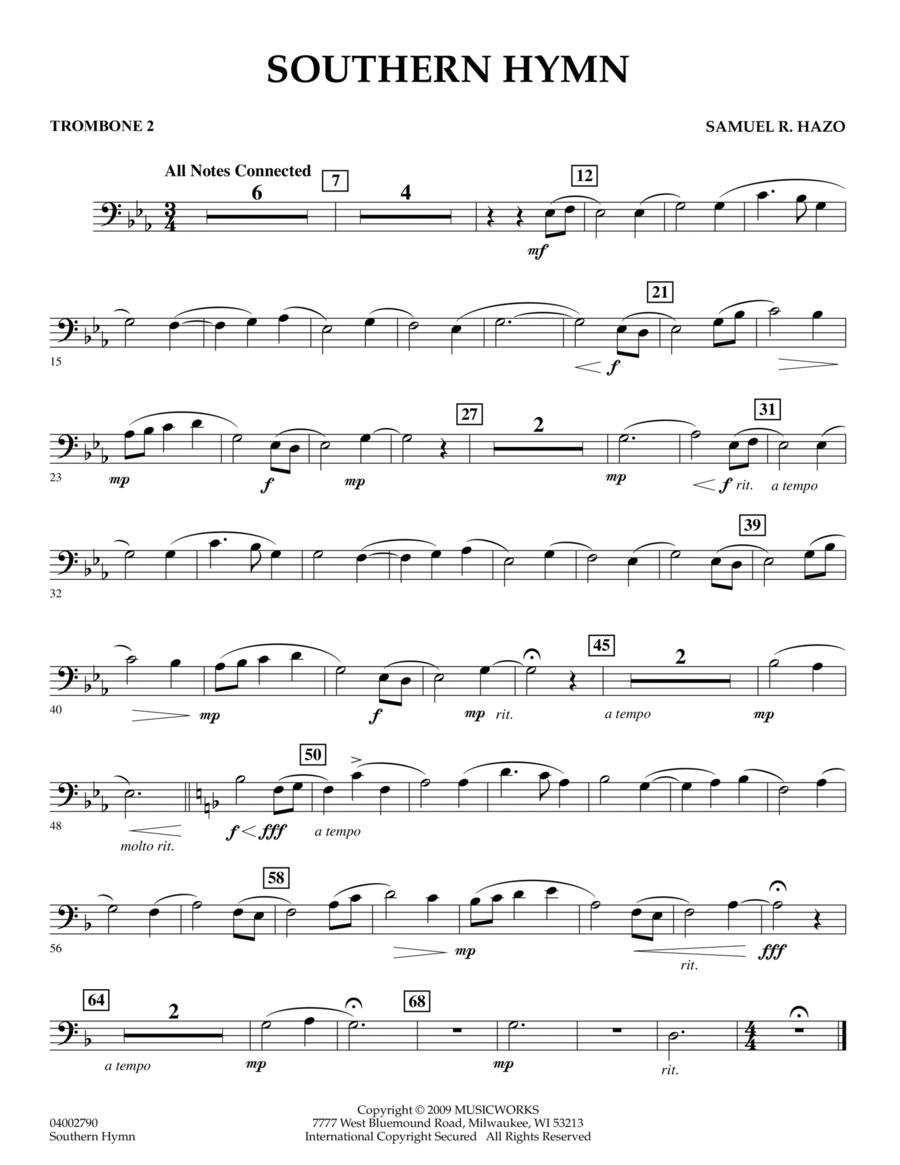 Southern Hymn - Trombone 2