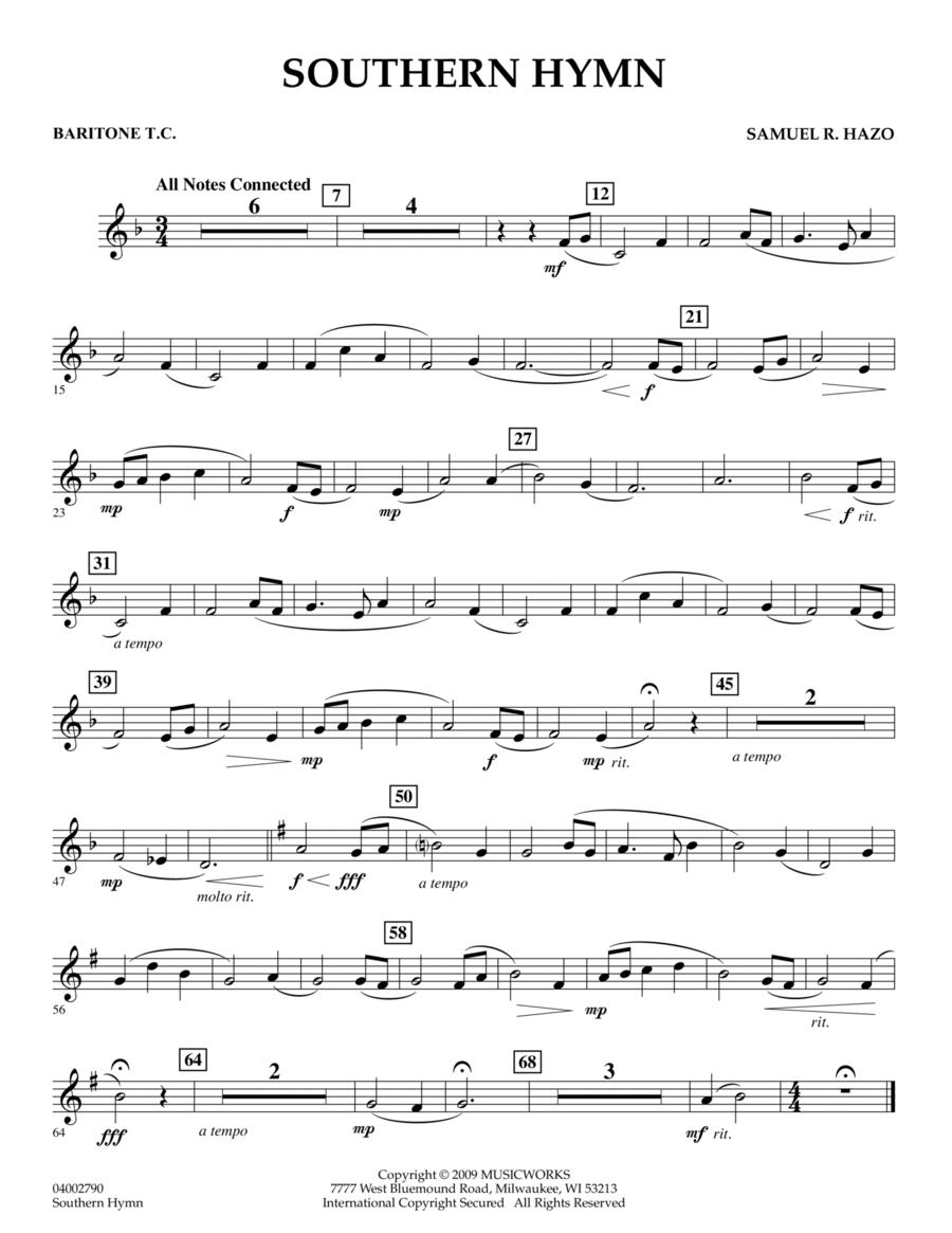Southern Hymn - Baritone T.C.