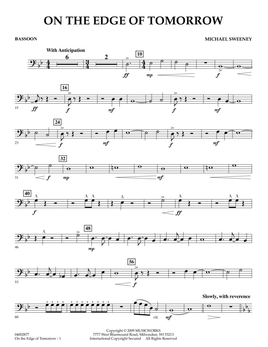 On the Edge of Tomorrow - Bassoon