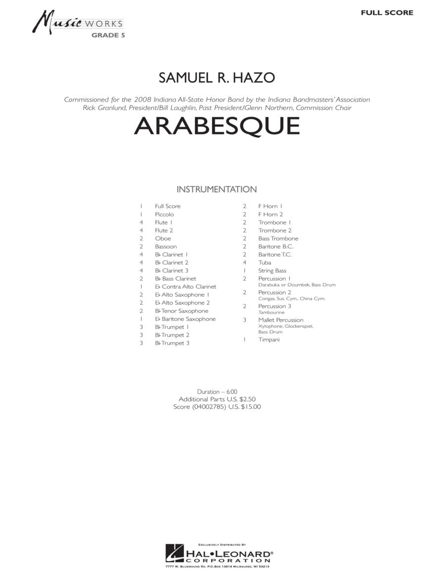 Arabesque - Full Score