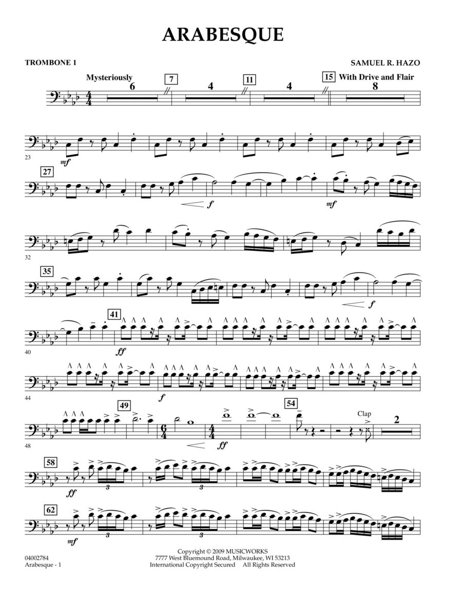 Arabesque - Trombone 1