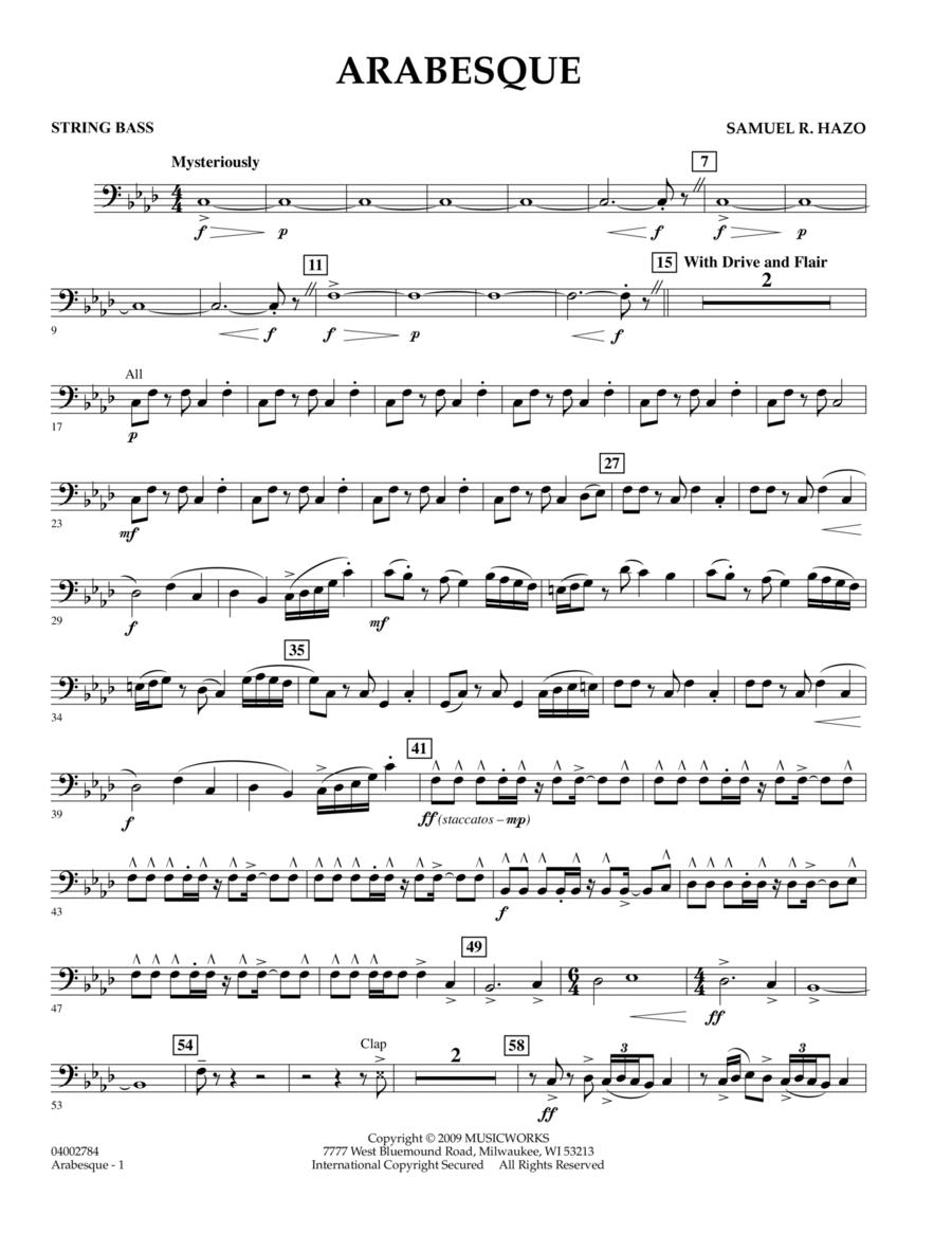 Arabesque - String Bass