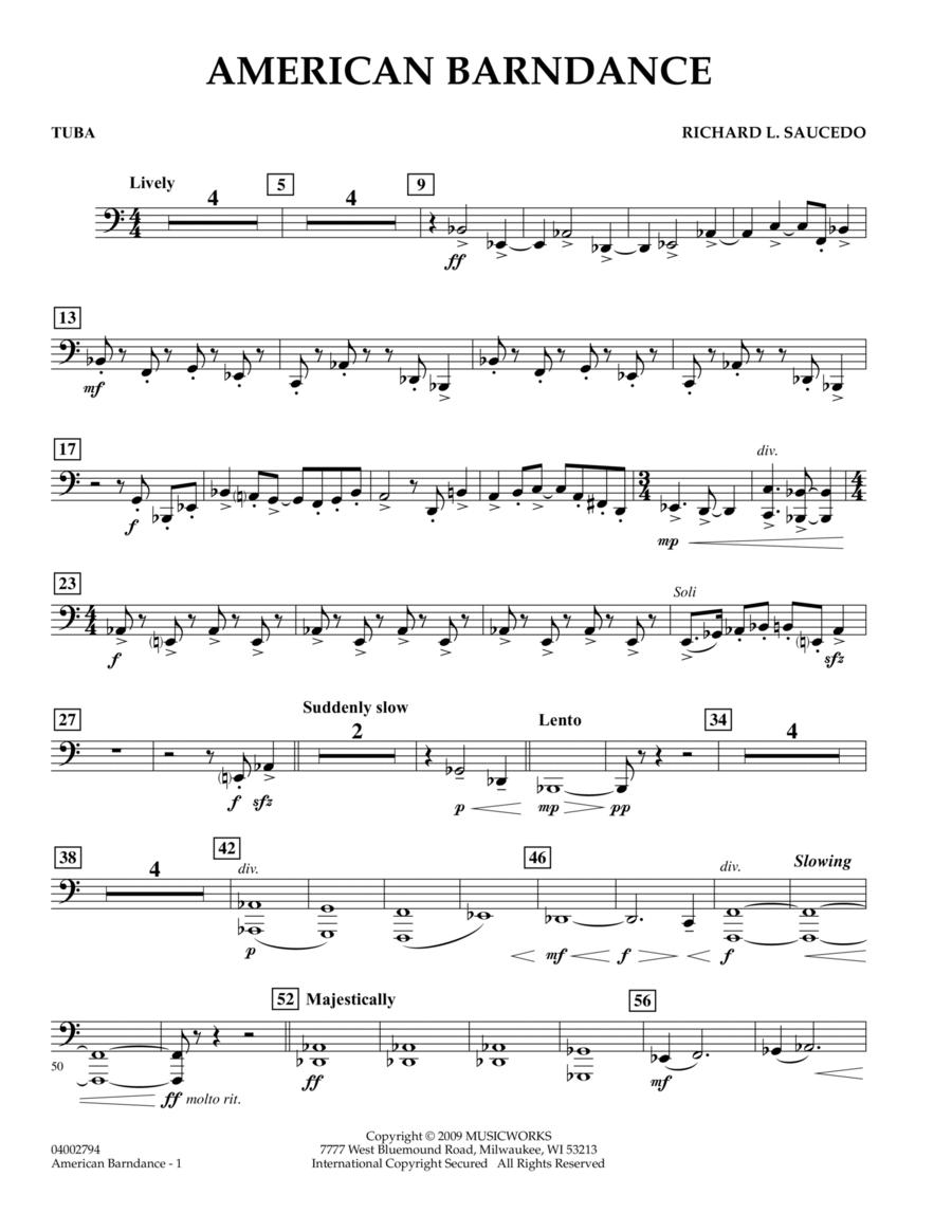 American Barndance - Tuba