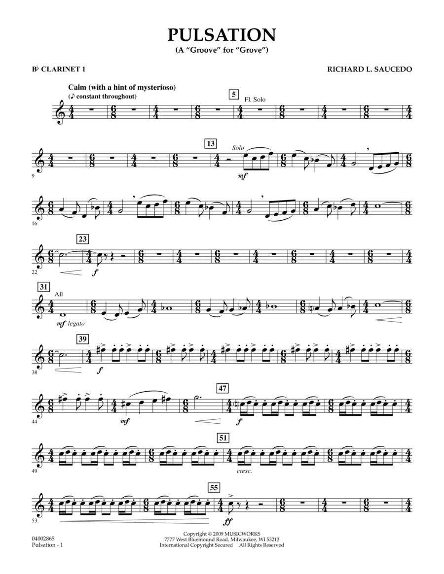 Pulsation - Bb Clarinet 1