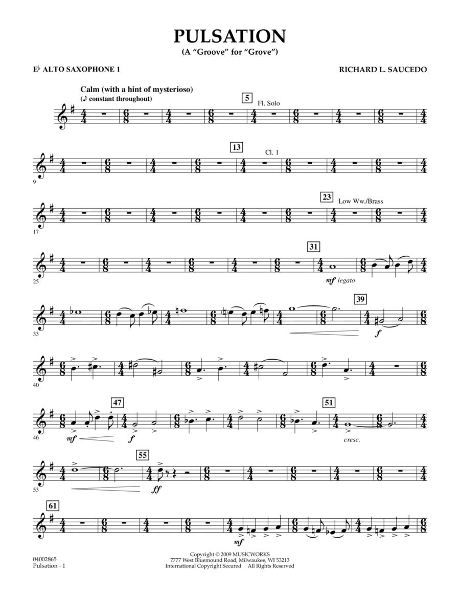Pulsation - Eb Alto Saxophone 1