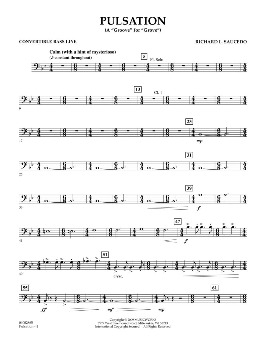 Pulsation - Convertible Bass Line