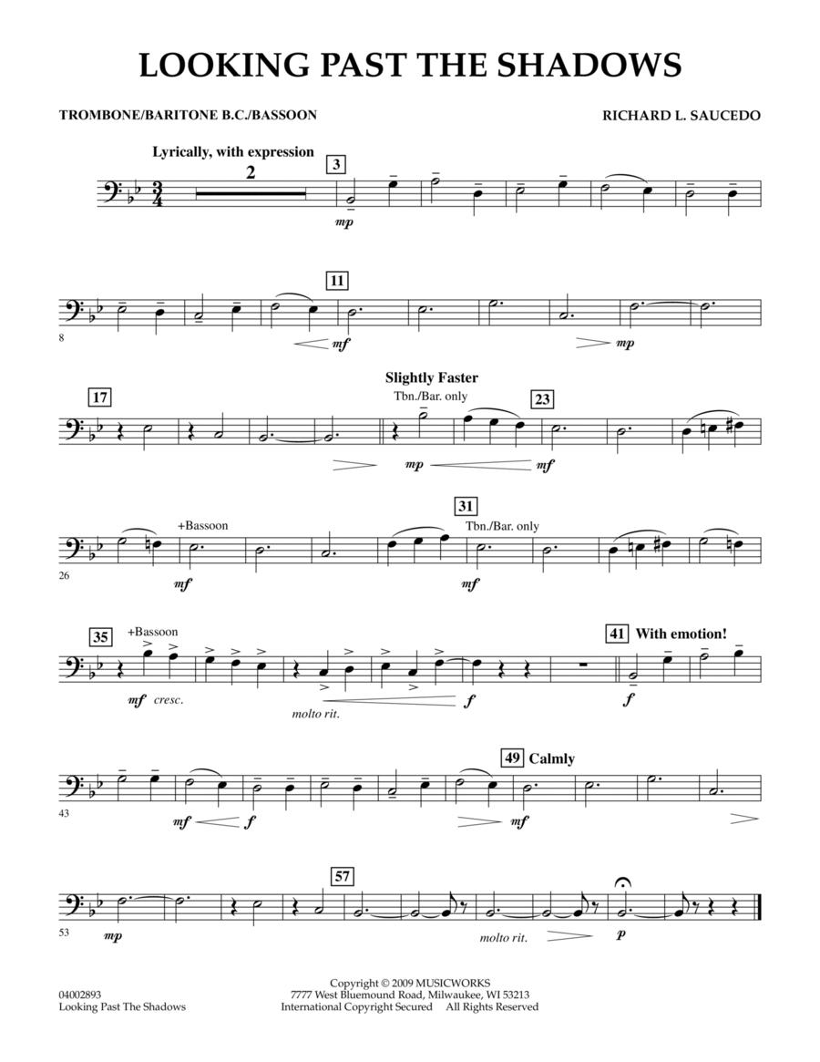 Looking Past the Shadows - Trombone/Baritone B.C./Bassoon