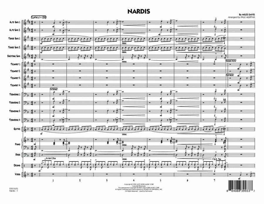Nardis - Full Score