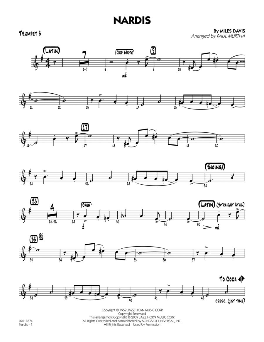Nardis - Trumpet 3