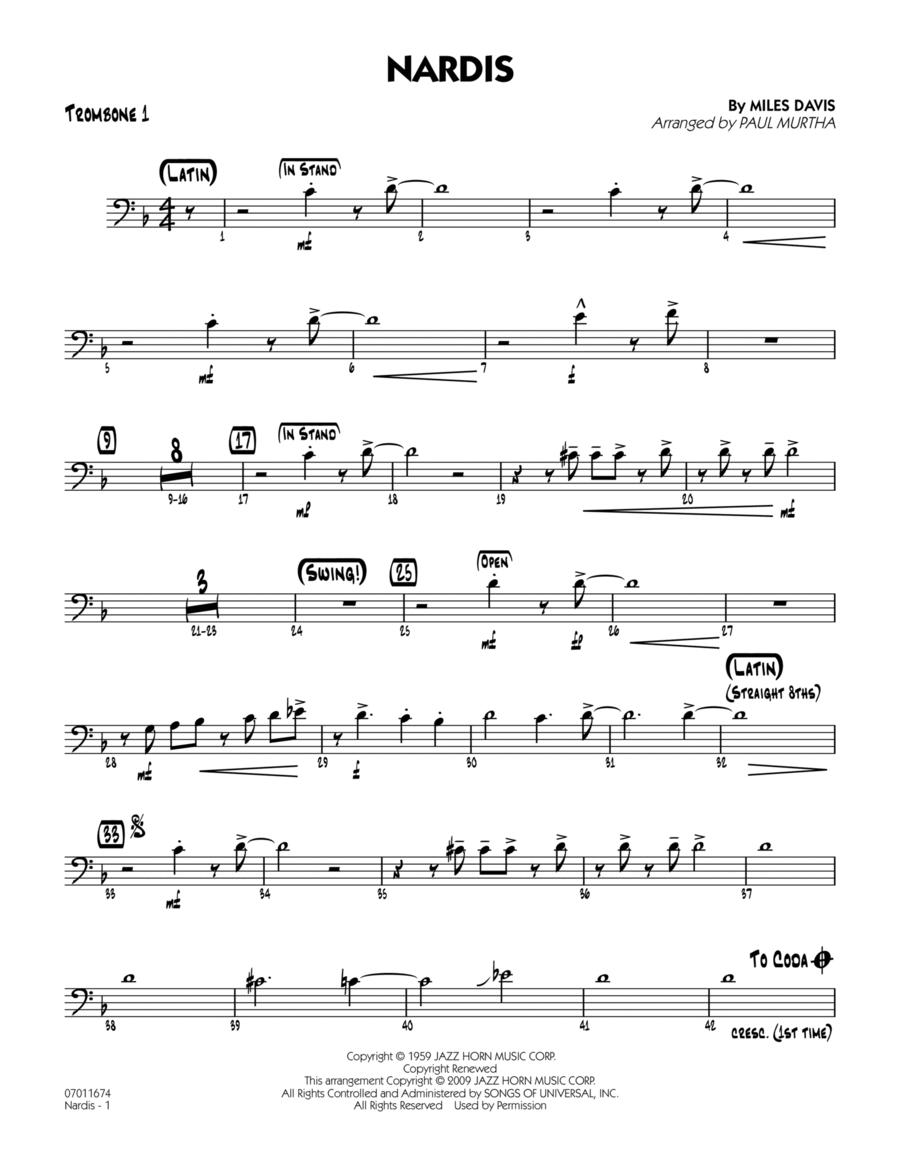 Nardis - Trombone 1