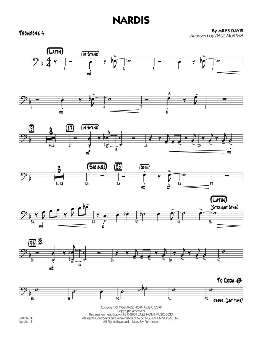 Nardis - Trombone 4