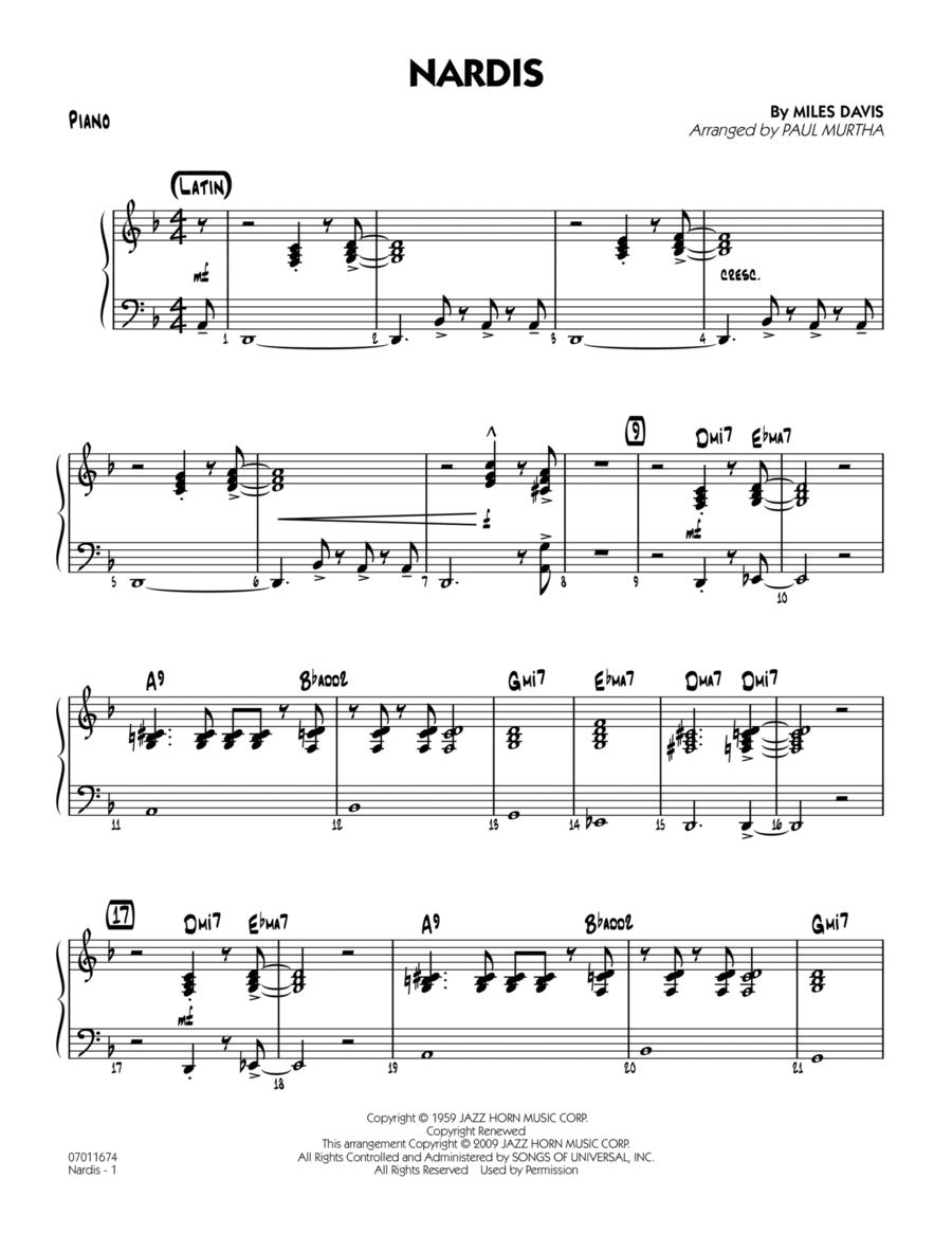 Nardis - Piano