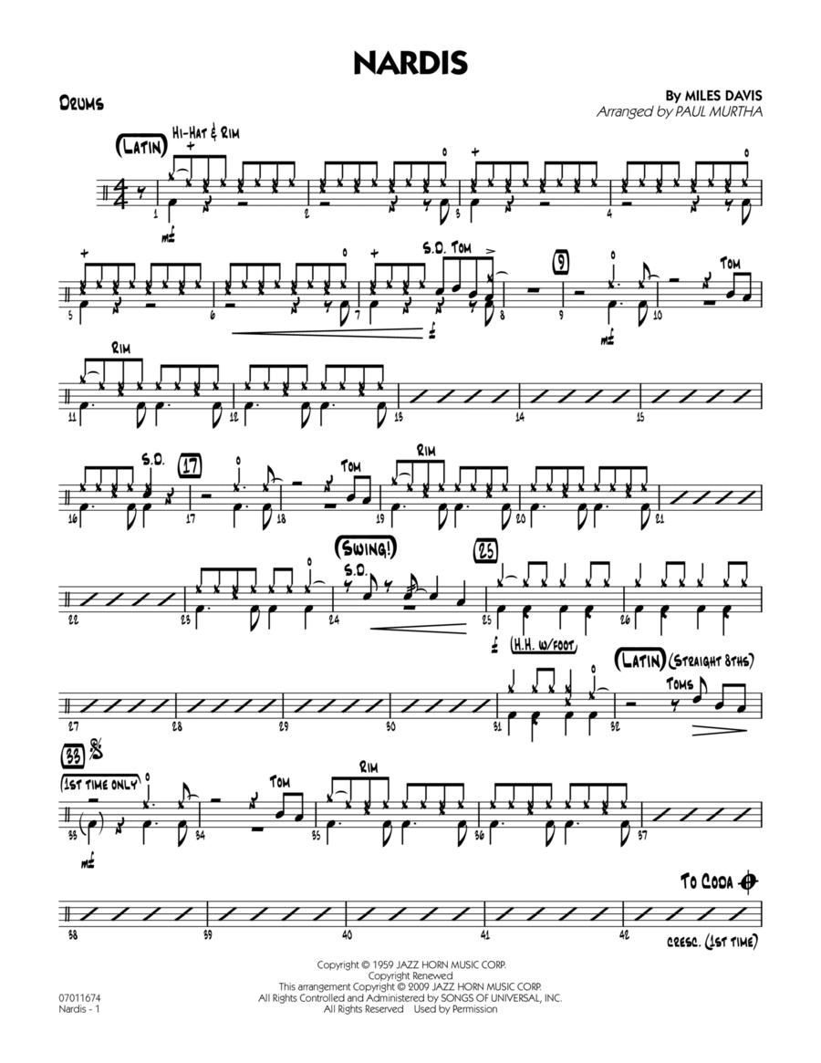Nardis - Drums