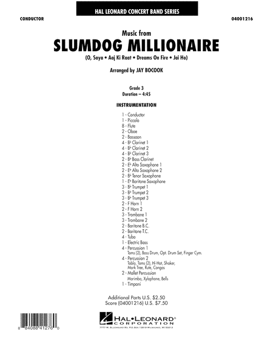 Music from Slumdog Millionaire - Full Score