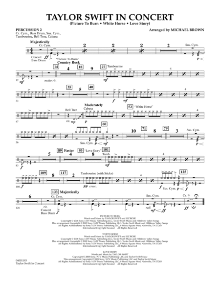 Taylor Swift - In Concert - Percussion 2