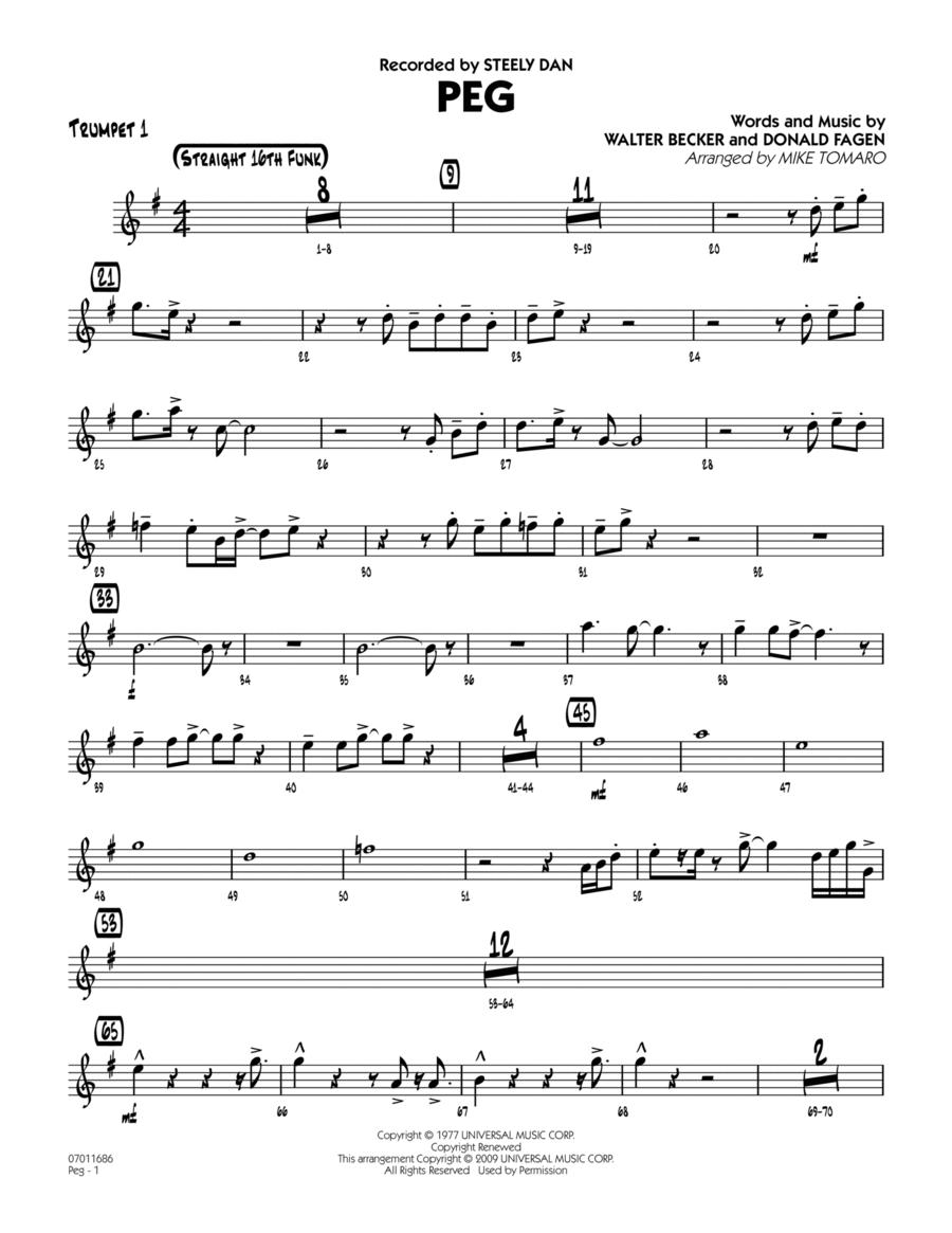 Peg - Trumpet 1