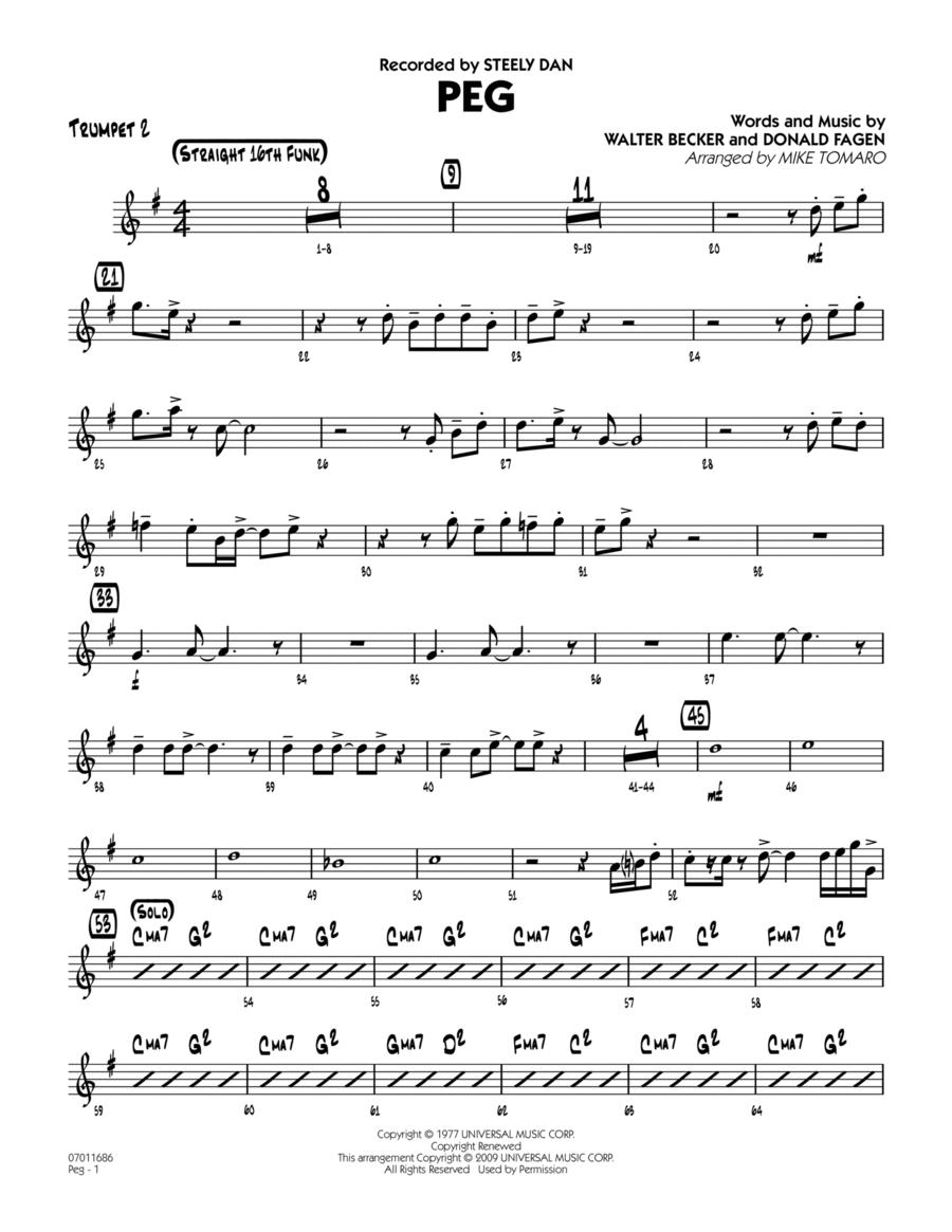 Peg - Trumpet 2