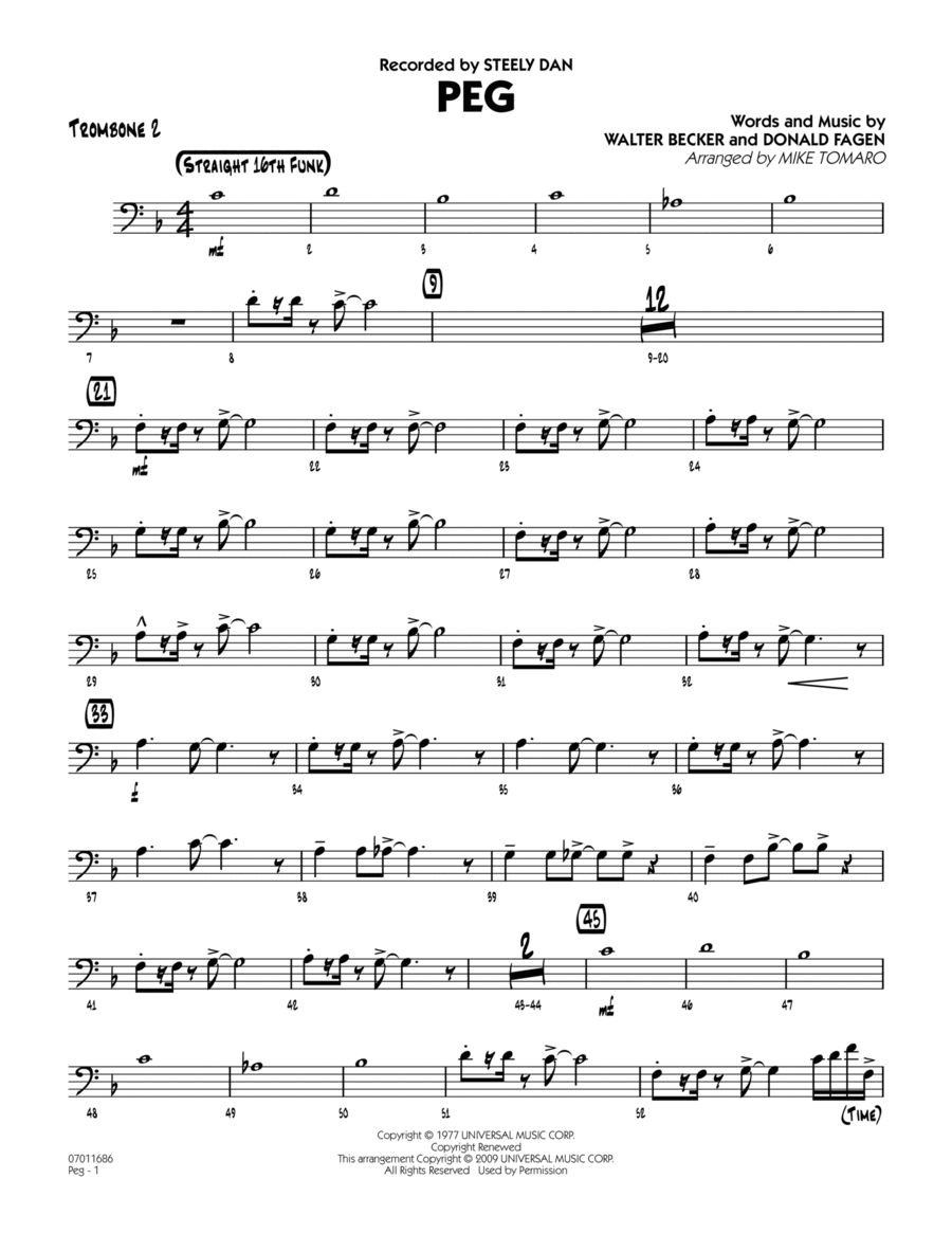 Peg - Trombone 2