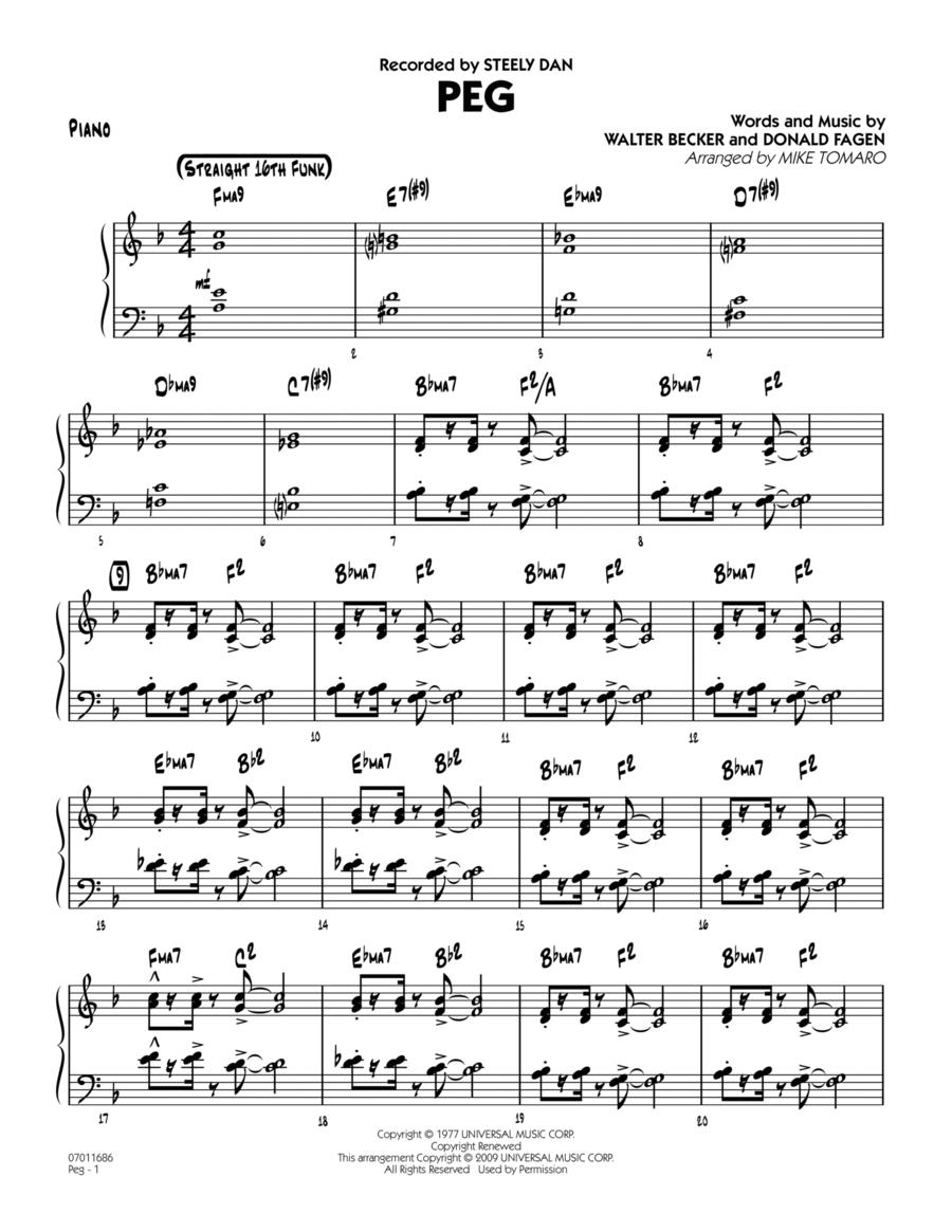Peg - Piano