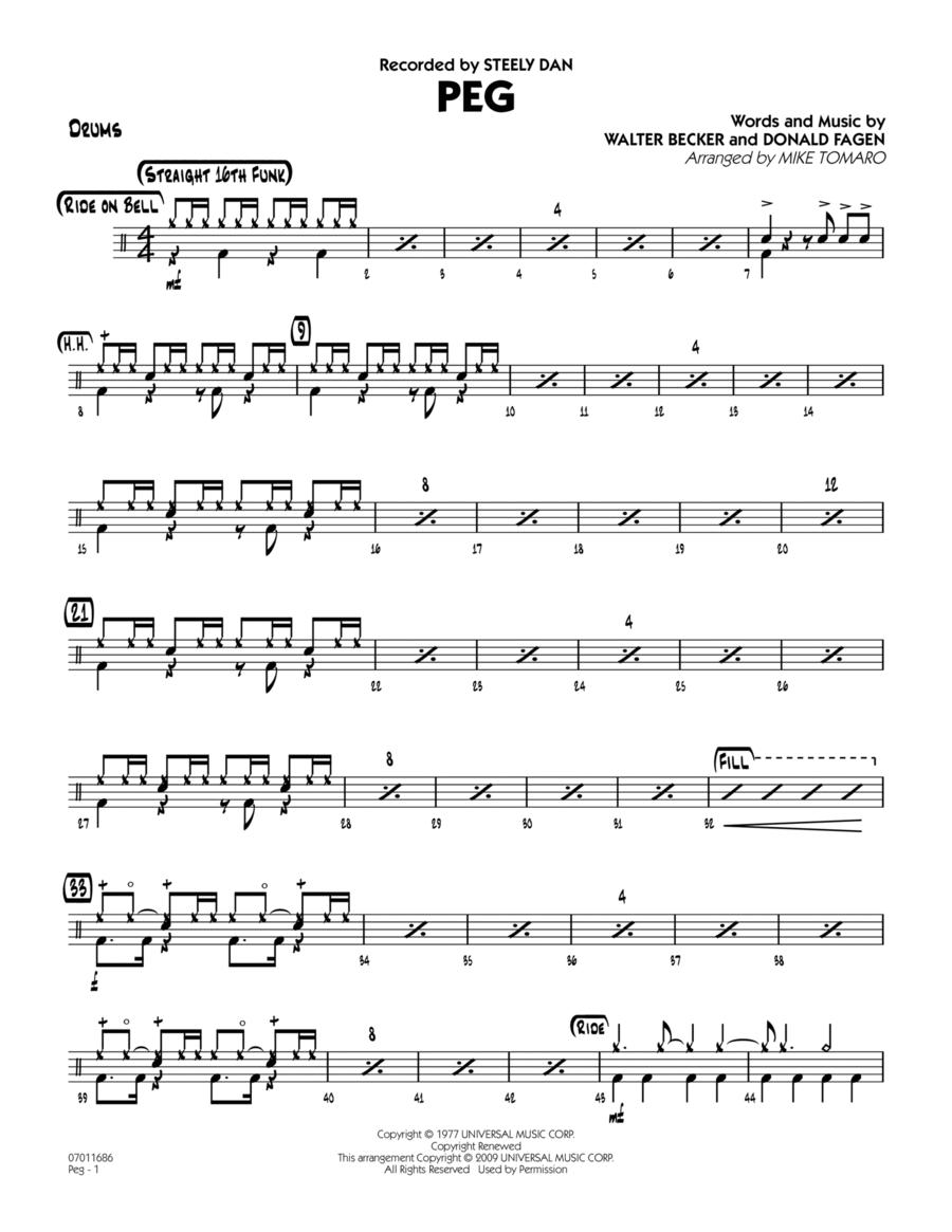 Peg - Drums