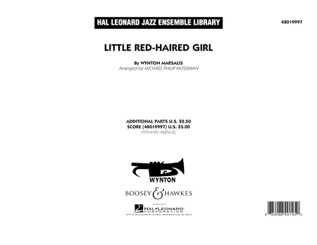 Little Red-Haired Girl - Conductor Score (Full Score)