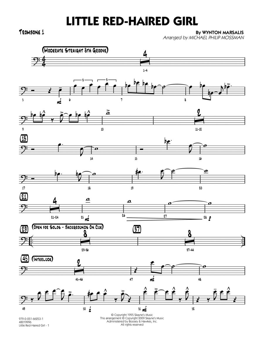 Little Red-Haired Girl - Trombone 1