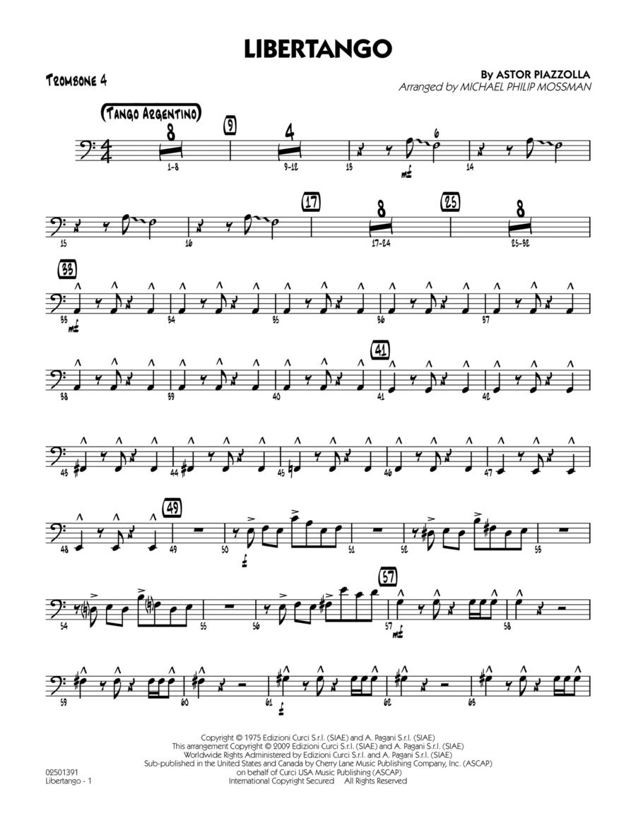 Libertango - Trombone 4