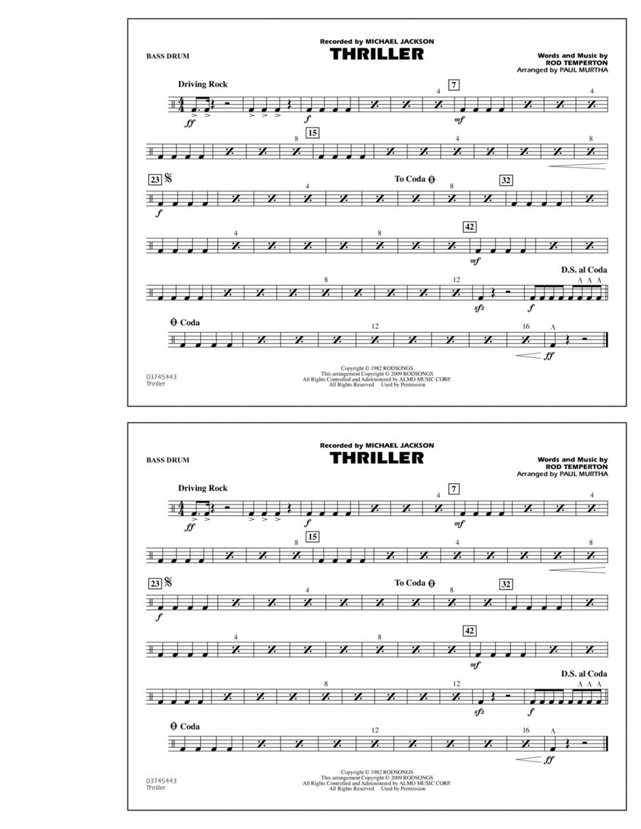 Thriller - Bass Drum