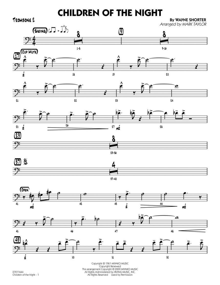 Children of the Night - Trombone 2