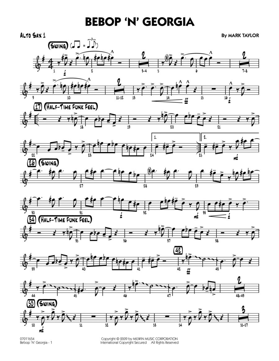 Bebop 'n' Georgia - Alto Sax 1