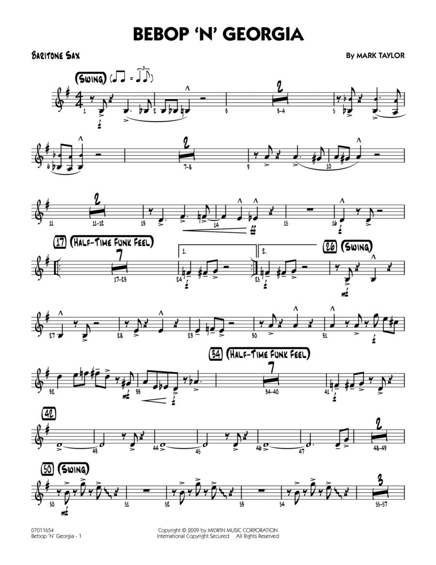 Bebop 'n' Georgia - Baritone Sax