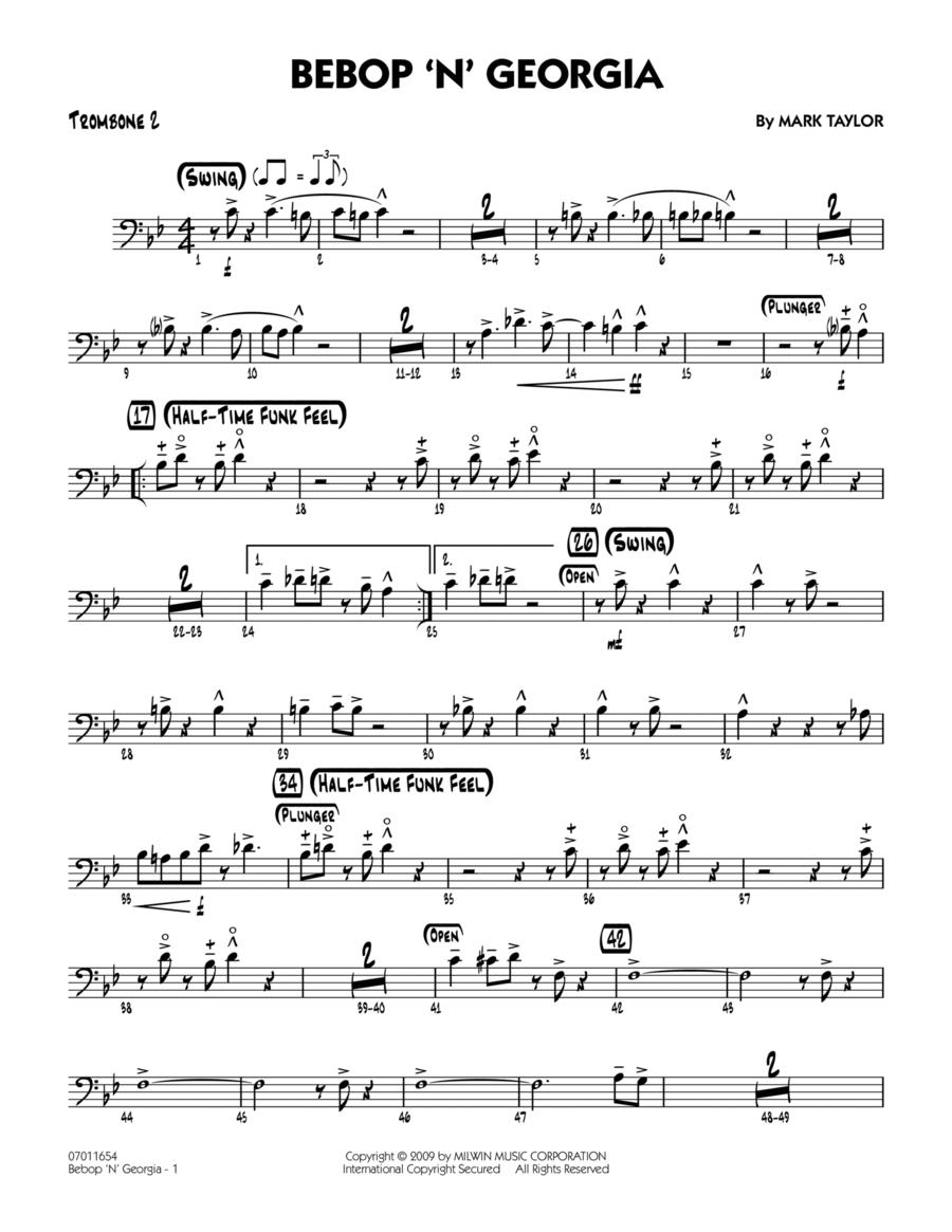 Bebop 'n' Georgia - Trombone 2