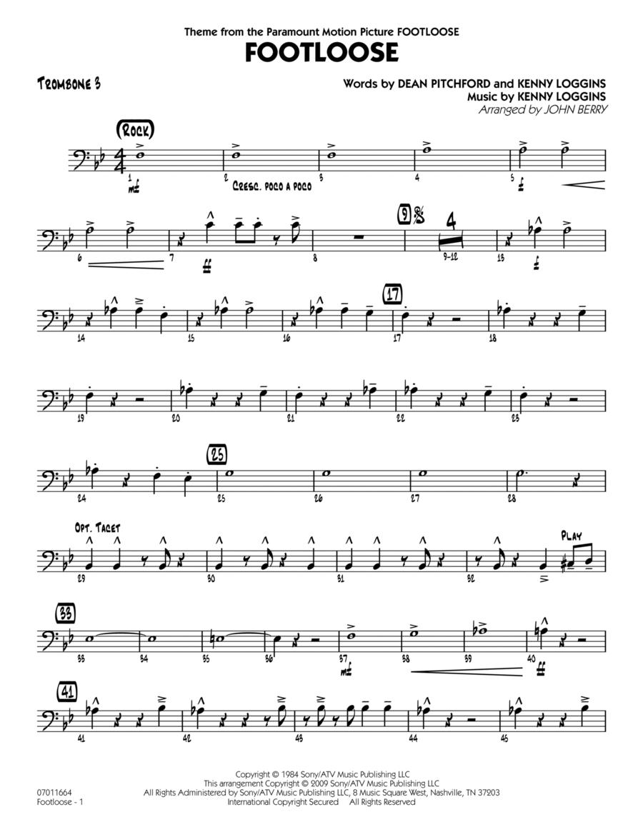 Footloose - Trombone 3