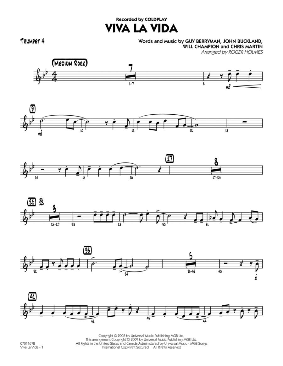 Viva La Vida - Trumpet 4