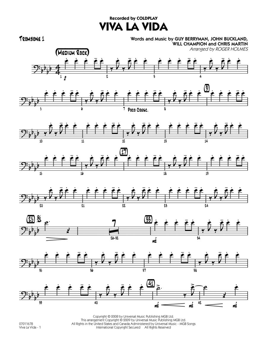 Viva La Vida - Trombone 1