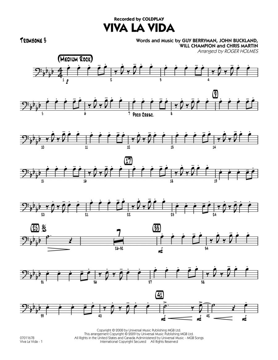 Viva La Vida - Trombone 3