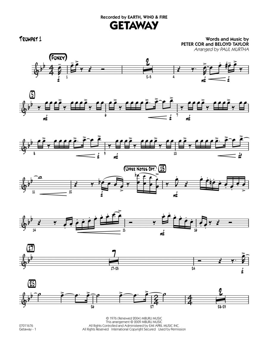 Getaway - Trumpet 1