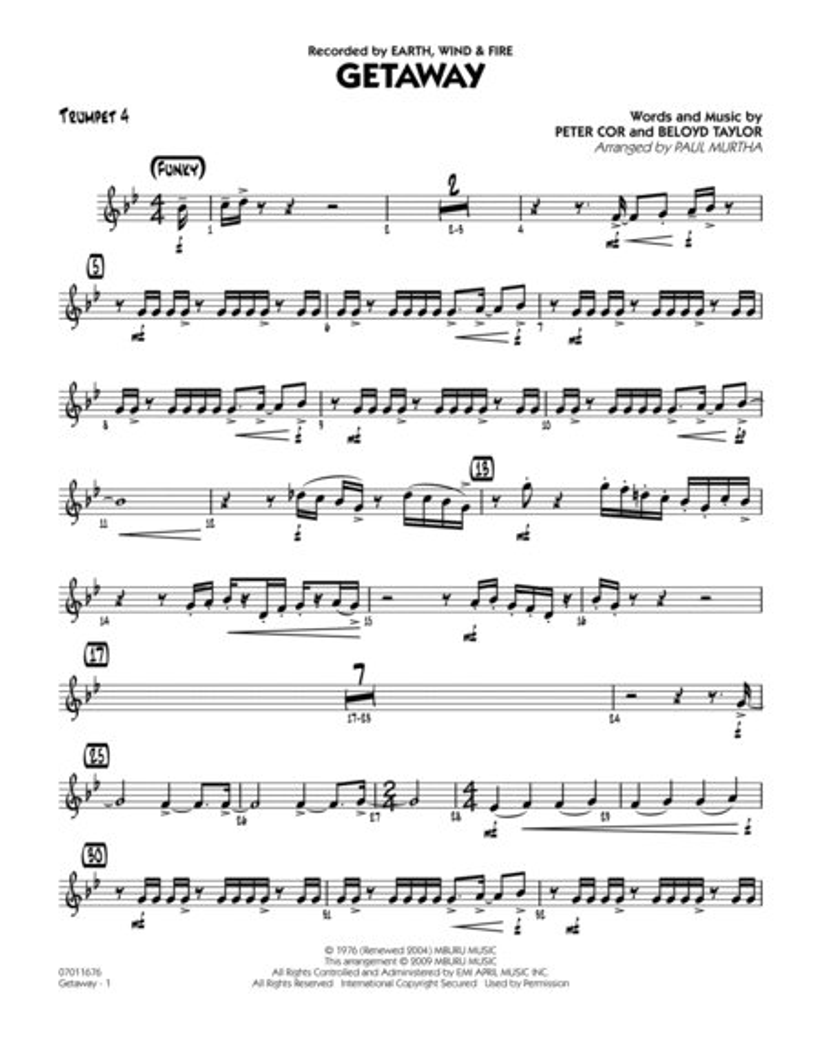 Getaway - Trumpet 4