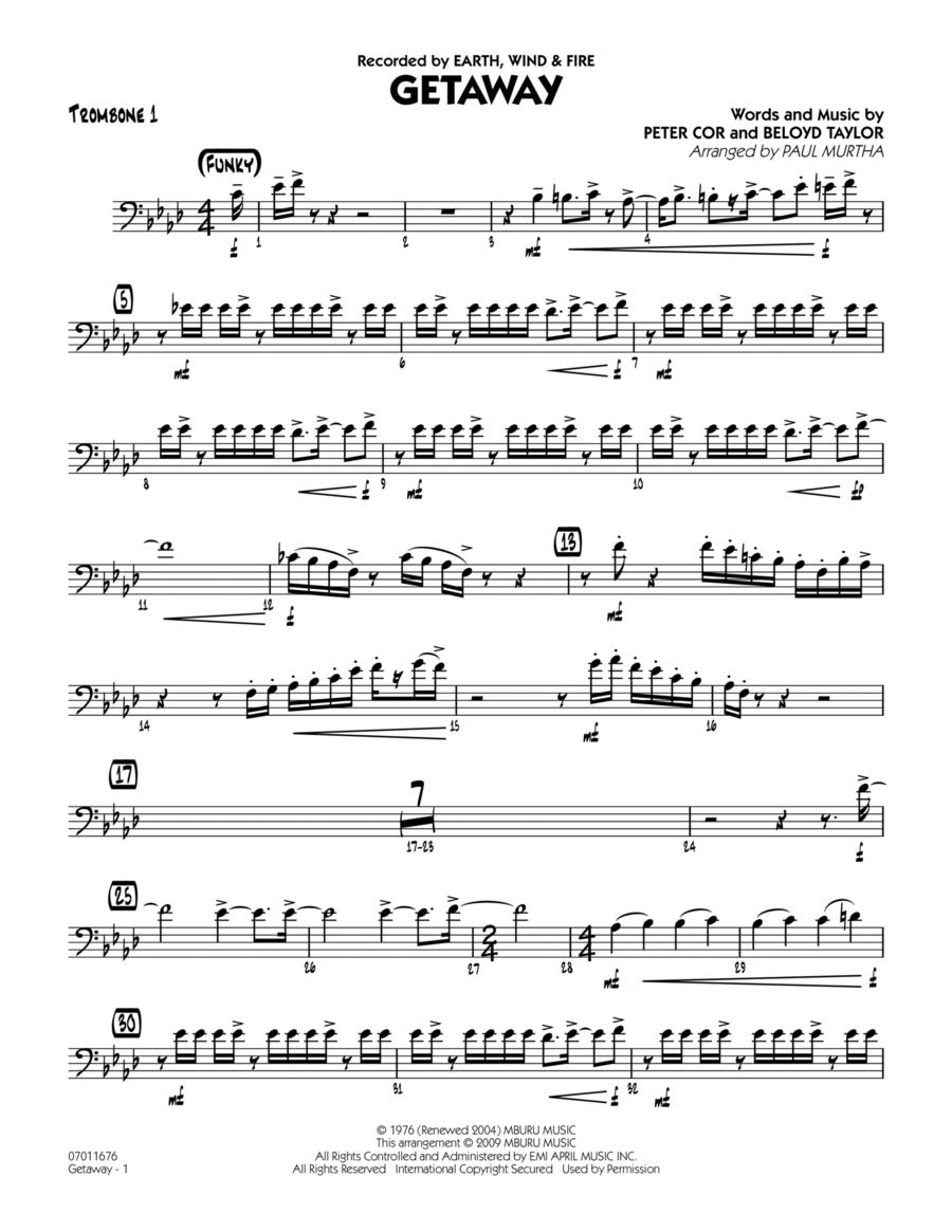 Getaway - Trombone 1