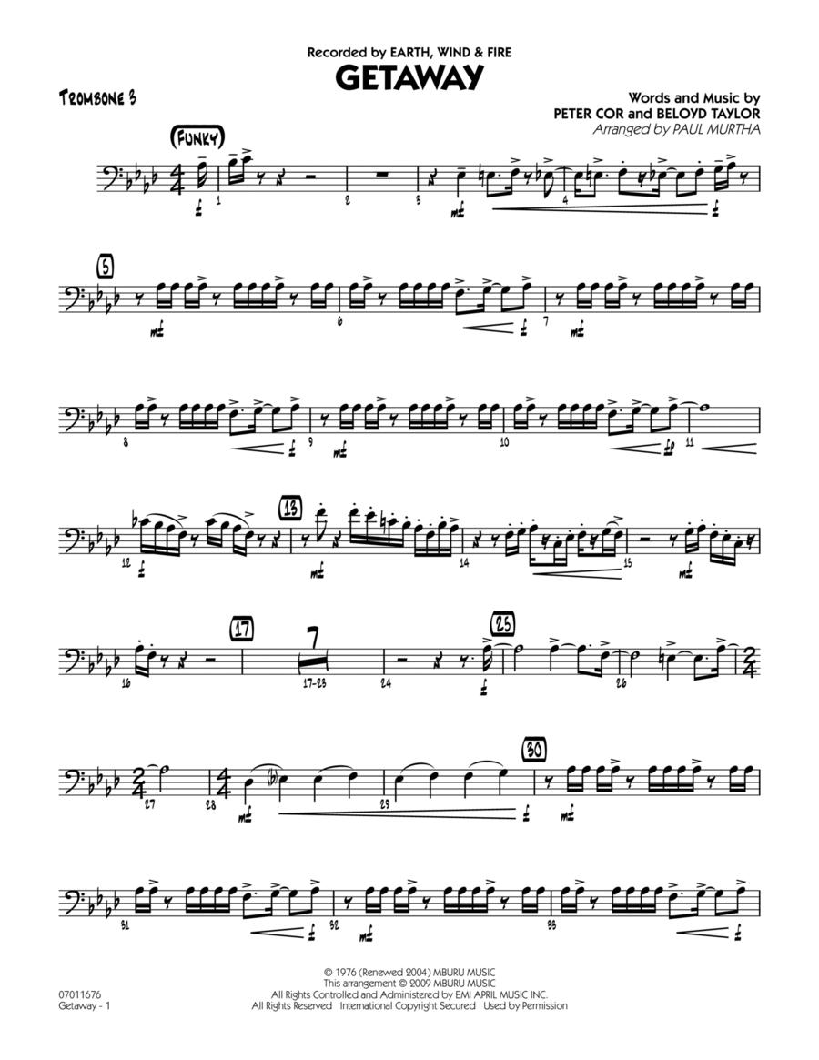 Getaway - Trombone 3